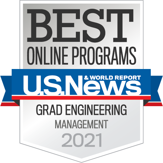 Best Online Programs - Grad Engineering Management 2021